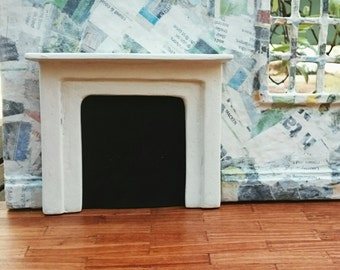 Miniature Stone fireplace