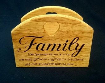 Napkin holder - Family