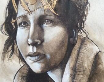 ORIGINAL Katniss, the Mockingjay