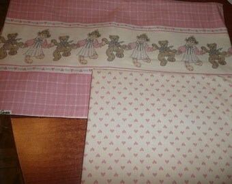 The Country Homespun Collection Weilwood Industries Bears,Dolls Hearts Fabrics