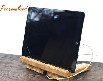 charging station, anniversary gift for him, anniversary gift for husband man, anniversary gift for friends, Personalized