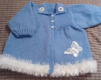 Baby Knitting Patterns Baby Newborn/0-6mths Coat