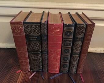 International Collectors Library Books/Vintage Literature Classics/Library Decor Books