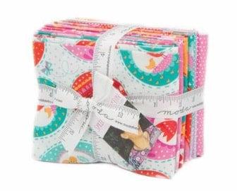SALE!! Fat Quarter Bundle Spring Bunny By Stacy Iest Hsu for Moda- 14 Fabrics Bunny Panel INCLUDED!