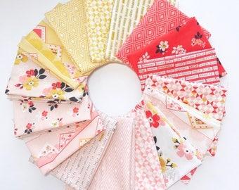 Fat Quarter Bundle Vintage Daydream by Design by Dani for Riley Blake Design- 16 Fabrics