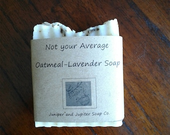 Not Your Average Oatmeal Lavender