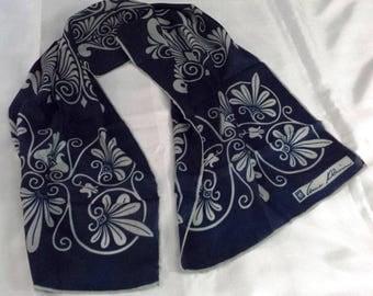 """Silk Scarf - Vintage Anne Klein - 44"""" by 12"""""""