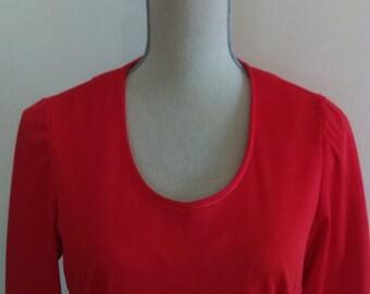 Vinta Red Dress.