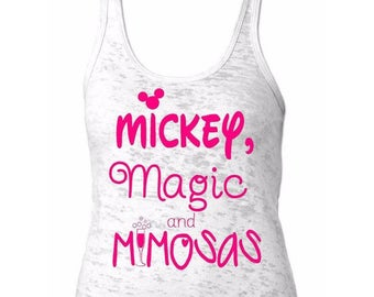 Mickey Magic and Mimosas Tank-Disney Tank