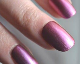 Purple-Copper Flip - Handmade Indie Nail Polish - by Vuuxi Nail Lacquer