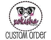 Custom / Made to Order / Stickers for Erin Condren / Filofax / Kikki-K / Fauxdori / Midori Planners