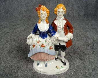 Made In Occupied Japan Vintage Dancing Colonial Couple