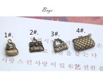 4pcs/lot Zipper Head/Zipper Puller/Zipper Accessory/Bronze Zipper Sliders/zinc alloy/Bags