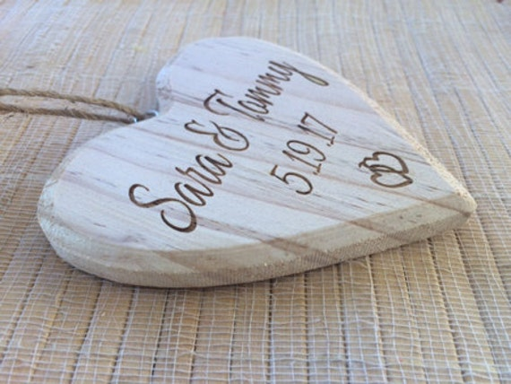 Personalized just married Ornament, engagement ornament, wooden ornament, custom wedding gift, our first christmas ornament, wedding gift