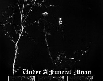 Darkthrone POSTER Under A Funeral Moon // Unholy Black Metal Fenriz Nocturno Culto Panzerfaust