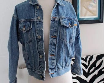 Vintage Jordache Jean Jacket 90s Grunge retro