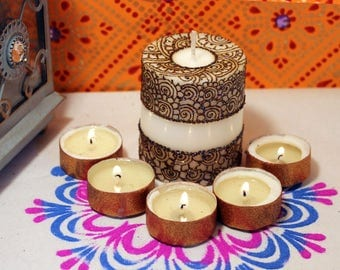 Moroccan Candle Etsy