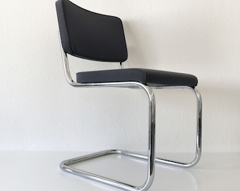 Bauhaus Tubular Steel | Cantilever Chair 'S 32 PV' | Marcel BREUER for THONET, Germany