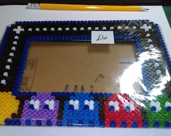 Pacman Bead Art - Picture Frame