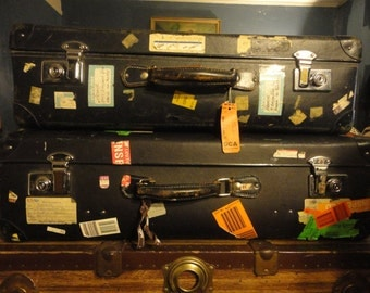Vintage Globe-Trotter Travel Suit Cases Made in England