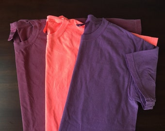 Monogrammed Comfort Colors Short Sleeve and Tank Extras