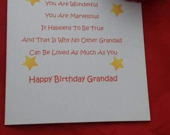 grandpa birthday  etsy, Birthday card