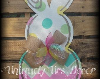 Bunny Door Hanger, Door Hanger, Rabbit Door Hanger, Easter Door Hanger