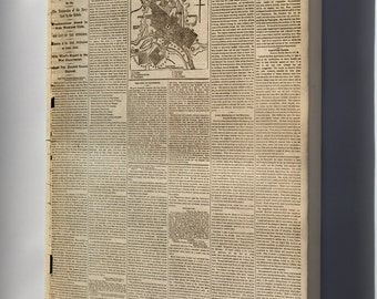 Canvas 24x36; Nyt 1862 Richmond, Virginia And Its Defenses