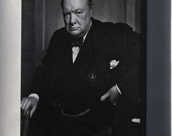 Canvas 16x24; Sir Winston Churchill P1