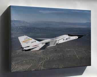 Canvas 16x24; Aircraft Fighter Jet F 111 Afti Nasa 0