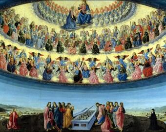 16x24 Poster; Assumption Of The Virgin By Francesco Botticini