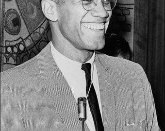 16x24 Poster; Malcolm X 1964