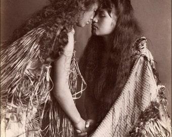 16x24 Poster; Maori Women, New Zealand C1900