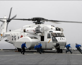 16x24 Poster; Mh-53E Mh-53 Sea Dragon Helicopter H-53
