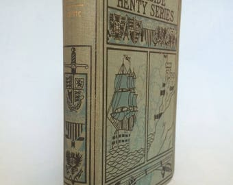 The Boat Club by Oliver Optic Vintage Boy's Book Fireside Henty Series