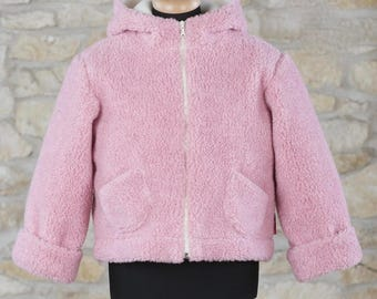 pure wool kids jacket