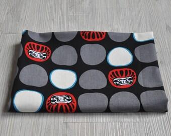 Japan lucky god  Fabric 1/2 yard