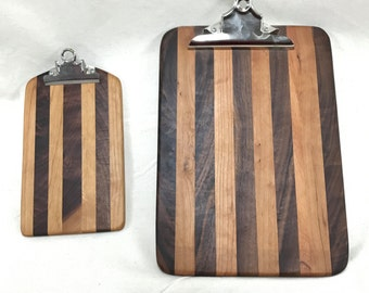 Set of Wooden clipboards ( 2 boards)