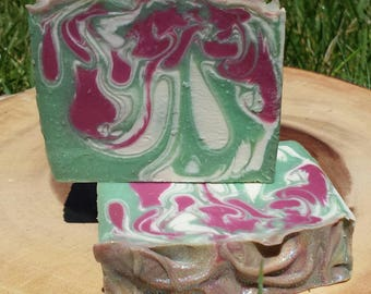 Lord of Misrule type , Triple Butter Luxury Soap, Cold Process Soap