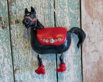 Black Pocket Pony