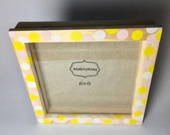 6x6 shadow box photo frame
