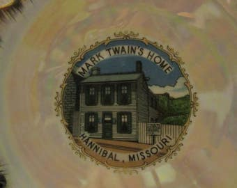 Vintage Mark Twains Home Hannibal Missouri Decorative collectible plate