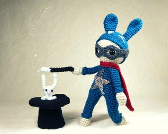 Crochet pattern : Super Lapin