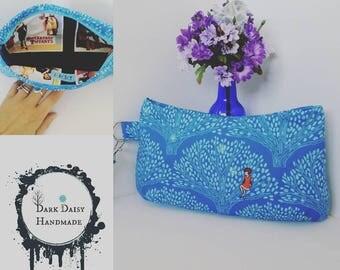 CUSTOM {Made to order} Coraline Wristlet Clutch with Detachable Wrist Strap.  Handmade in Australia.
