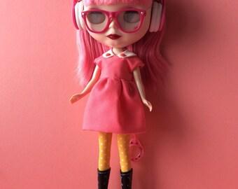Pink Blythe doll dress