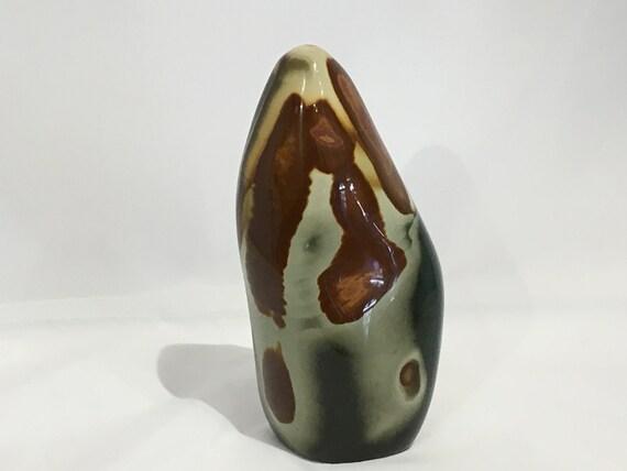Polished POLYCHROME JASPER Statement Piece// Healing Gemstone// Polished Jasper// Home Decor// Healing Tools// Jasper FREEFORM Piece