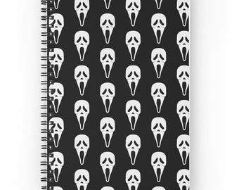 Horror Movies Spiral Notebooks 120 pages / 15.25 x 25.25 cm / Writing journal, spiral notebook, sketchbook, bullet journal, diary
