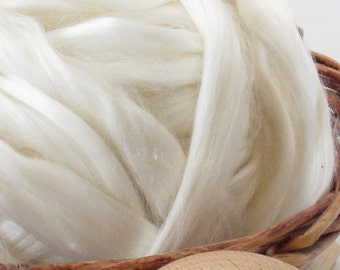 Ramie Top - Undyed Natural Spinning Fiber/ Roving - 1oz