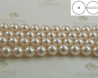 Swarovski #5810 Crystal Creamrose Pearls Round Beads 4mm 6mm 8mm 12mm