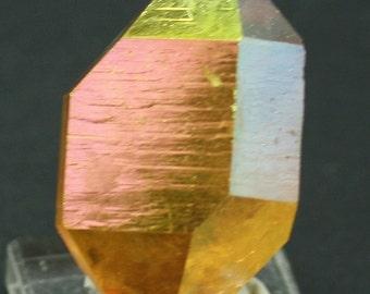 Sunset Aura Quartz, Crystal for Sale